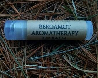 Bergamot aromatherapy lip balm