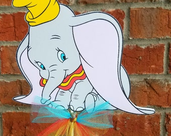 Disney Dumbo Cake Topper or Centerpiece Pick - Elephant
