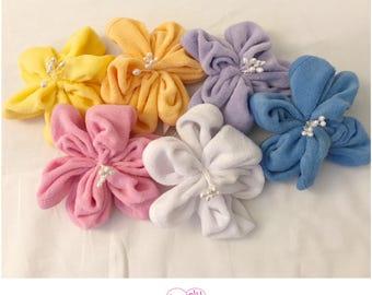 Washcloth Lilies