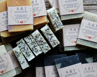 Bridal Shower Soap Favors, All Natural Soap