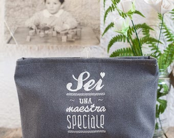 You're a Special Teacher-toilet bag or pencil cases with embroidery