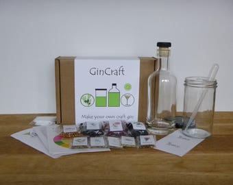 GinCraft - make your own craft style gin