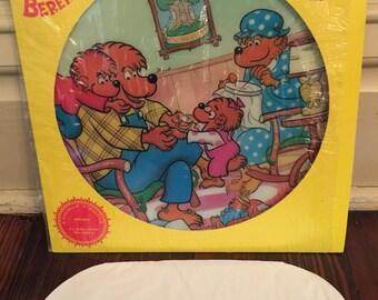 1982 Vintage Berenstain Bears Record/Meet The Berenstain Bears/Berenstain Bears Music Record