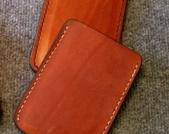 Full Grain 100% Leather Cell Phone Case, Slip Cover for Device Galaxy3,5,8,htc inc. Iphone 6