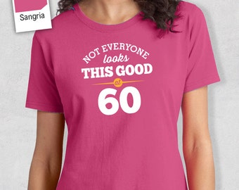 60th Birthday, 60th Birthday Idea, Great 60th Birthday Present, 60th Birthday Gift. 1958 Birthday, 60th Birthday Shirt, Women's Crew Neck!