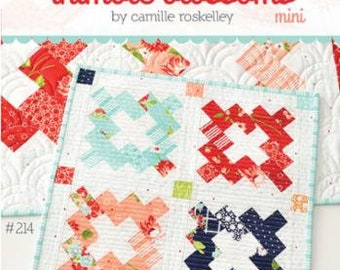 """Vintage Mini Patternby Camille Roskelley of Thimble Blossoms -214 Finished Quilt Size- 14"""" x 14"""""""