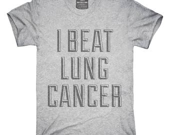 I Beat Lung Cancer T-Shirt, Hoodie, Tank Top, Gifts