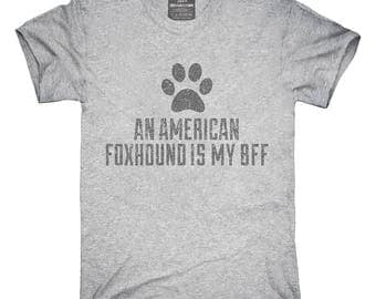 Cute American Foxhound Dog Breed T-Shirt, Hoodie, Tank Top, Gifts