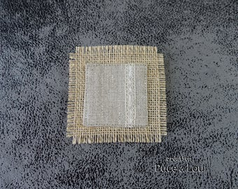 "PIN square linen ""like a picture"""