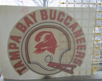 Tampa Bay Buccaneers true vintage iron on decal for T shirt or?