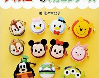 Disney's Macaron case - Japanese craft book