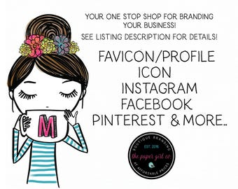 facebook favicon instagram favicon pinterest favicon etsy favicon add-on