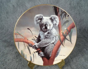 W.L. George The Koala Collectors Plate By Charles Frace 1990