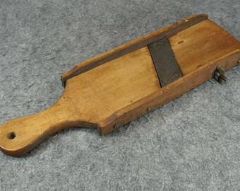 Vintage Mandolin Wood Vegetable Slicer