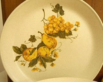 Retro Johnson of Australia Dinner Plates 70's Set of Six