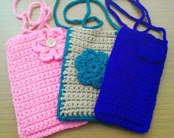 Crochet Eyeglass Case w/ strap