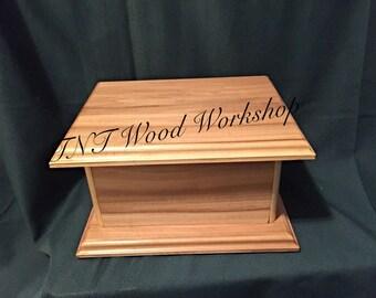 Handmade wooden box, Keepsake box, storage box, treasure box, wooden box, gift box, flocking lined box