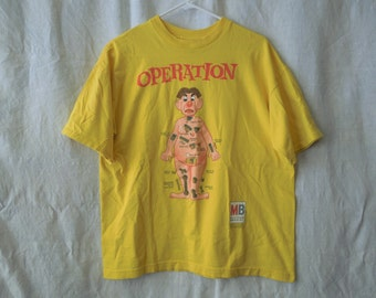 SALE 90s Operation Board Game T-Shirt