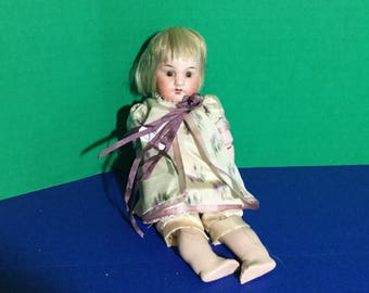 French Reproduction Bisque Doll