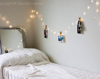 Home Decor, Photo Display, Firefly Lights, Wall Hanging, Lighting, Home String Lights, Wall hanging, Decor, Lighting Wall, Battery & Plug In