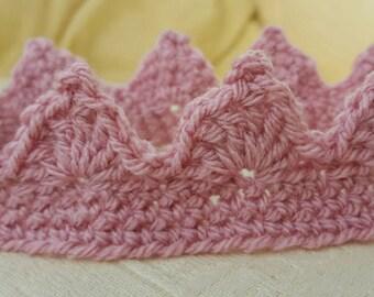 Crown tiara handmade crochet