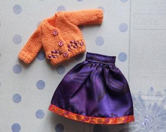 Clothing doll/doll Blythe, Pullip, Tangkou (skirt/jacket), Barbie, Licca, Azone, Jdoll, Momoko