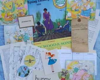 Spring / Easter Ephemera Packet (B)