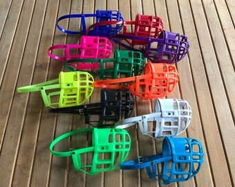 Full Grip Supply Basket Dog Muzzle.. Many Colors to Choose From!!! .**MEASURE YOUR DOG**