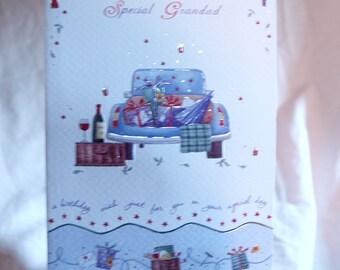 Birthday Card  To a Special Granddad