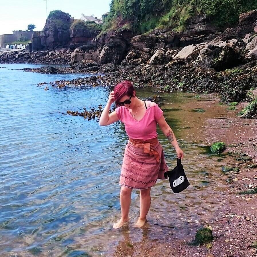 Beachcombing in Ireland