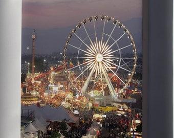 Canvas 24x36; Los Angeles County Fair At Dusk #031715