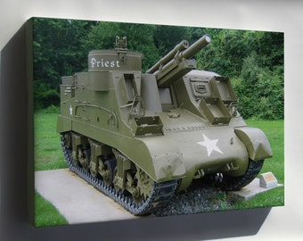 Canvas 24x36; M7 Priest