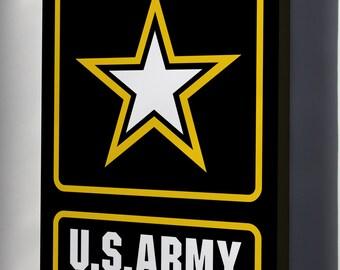 Canvas 24x36; U.S. Army Logo