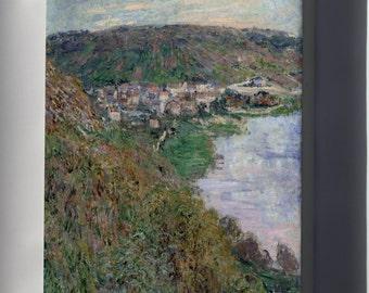 Canvas 16x24; Claude-Joseph Vernet - A Calm At A Mediterranean Port