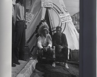 Canvas 16x24; Indians Sitting In Front Of Teepee Picketing Warner Bros Nara 285852