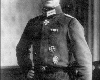 16x24 Poster; Kurt Wintgens (1 August 1894 - 25 September 1916) Was A German World War I Fighter Ace