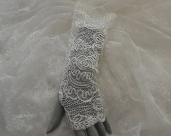 Clearance - 27% lace long, long lace fingerless gloves, fingerless wedding gloves long fingerless gloves