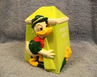 Donald Duck Bank Character Walt Disney