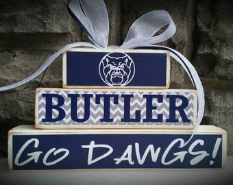 Custom College and Pro Sports Team Butler University Bulldogs Fan Stacker
