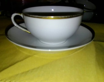 1910 M series Noritake Teacup and Saucer