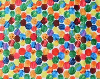 The Very Hungry Caterpillar Quilting Fabric - Fat Quarter or by the Yard