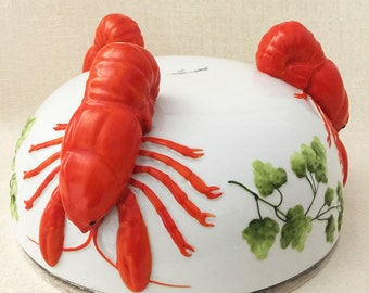 Superb Lobster Bowls Early 1900s