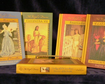 The Royal Diaries 5 Book Lot Hardcover