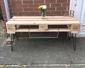 Upcycled pallet coffee table TV stand (available in all shapes and sizes)