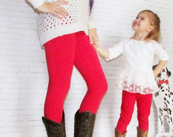 Mommy & Me - Mommy And Me Leggings - Mommy And Me Outfit - Matching Mommy Daughter - Leggings - Womens Leggings - Kids Leggings - Baby