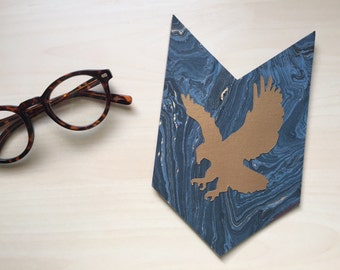 Ravenclaw Pennant, Wall Hanging, Gallery Wall, Harry Potter Art, Harry Potter Nursery, Graduation Gift, Harry Potter Gift, Dorm Banner