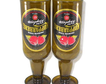 Kopparberg Raspberry Glasses