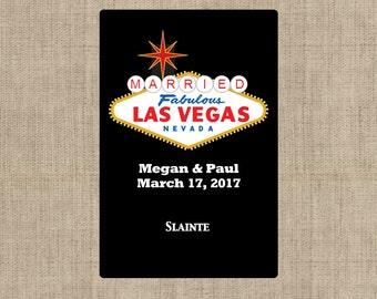 Las Vegas Playing Card Labels - Wedding Favors, Wedding Labels - Las Vegas Theme, Playing Card Stickers - Las Vegas Decor - Las Vegas Favor