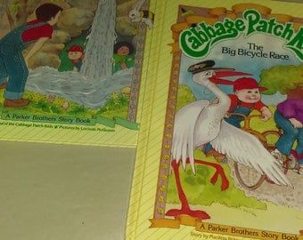 Vintage cabbage patch books