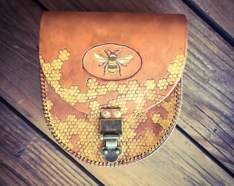 Honeybee Pouch & Purse